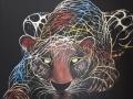 Luipaard ten aanval