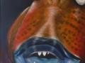 S064 Vis met tanden -big