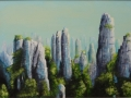 Tianzi Mountains Blue - web